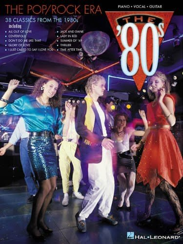 Hal Leonard Hal Leaonard The Pop/Rock Era - The 80's