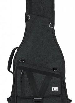Gator Cases Gator Transit Series Electric Guitar Gig Bag, Black Exterior