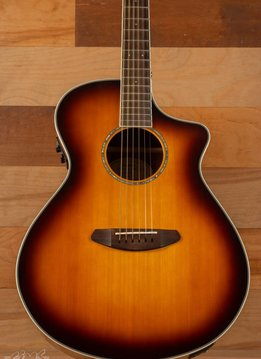 Breedlove Breedlove Pursuit Concert Blackwood, Gloss Sunburst, CE USB w/ Bag