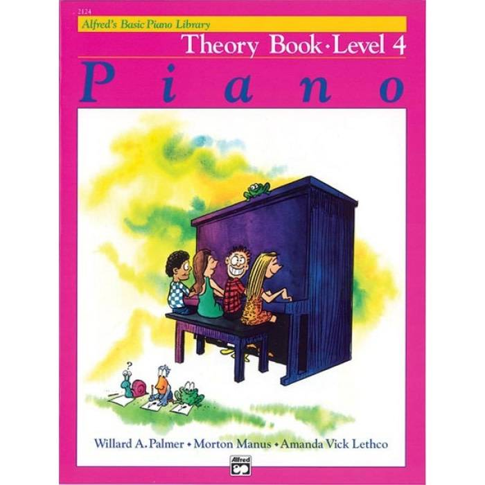 Alfred'' Basic Theory Book. Level 4