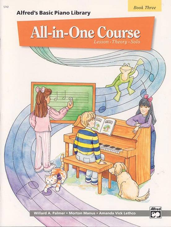 Alfred's Basic Piano All-In-One Course Book 3