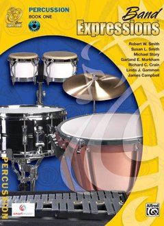 Band Expressions, Book 13a Percussion W/CD
