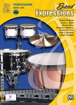 Band Expressions, Book 1: Percussion W/CD