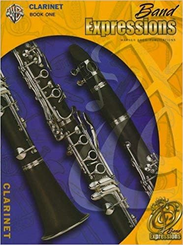 Band Expressions, Book 13a Clarinet