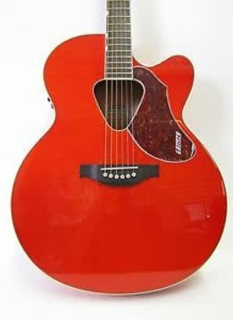Gretsch Gretsch G5022CE RancherTM Acoustic / Electric Jumbo Cutaway, Fishman® Pickup System, Savannah Sunset