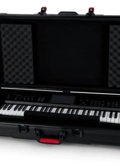 Gator Cases Gator TSA Series 61-Note Keyboard Case w/ Wheels