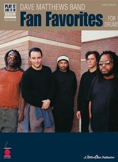 Hal Leonard Dave Matthews Band: Fan Favorites Drum Book