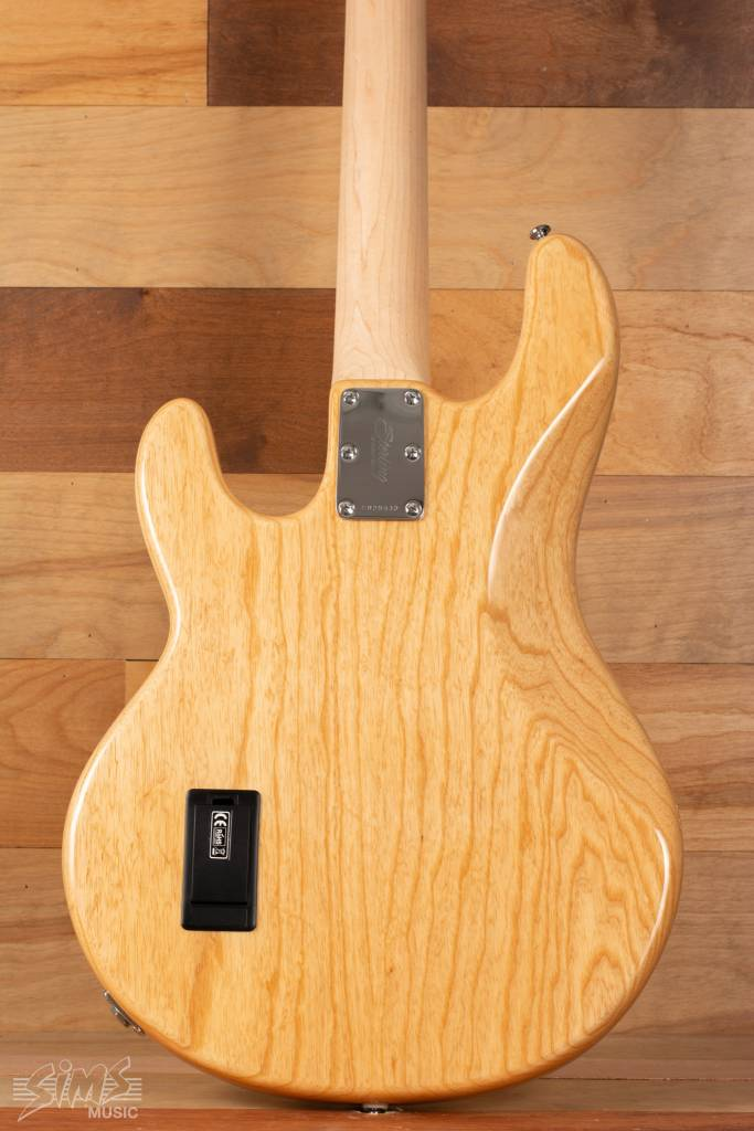 Sterling Sterling RAY34 Electric Bass, Natural, Maple Fingerboard