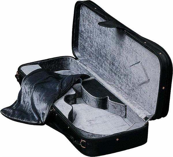 "Fender Fender® Hardshell ""F"" Style Mandolin Case, Black"
