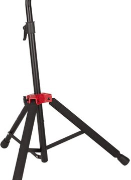 Fender Fender® Deluxe Hanging Guitar Stand, Black/Red