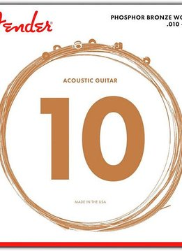 Fender Fender 60XL Phosphor Bronze Acoustic Guitar Strings, 10-48