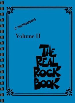 Hal Leonard The Real Rock Book'3a Volume II