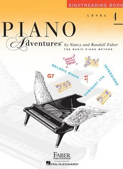 Hal Leonard Piano Adventures: Sightreading Book 4