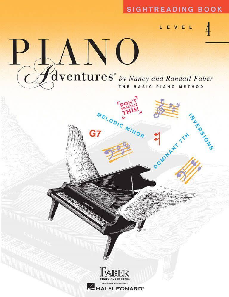 Hal Leonard Piano Adventures'3a Sightreading Book 4