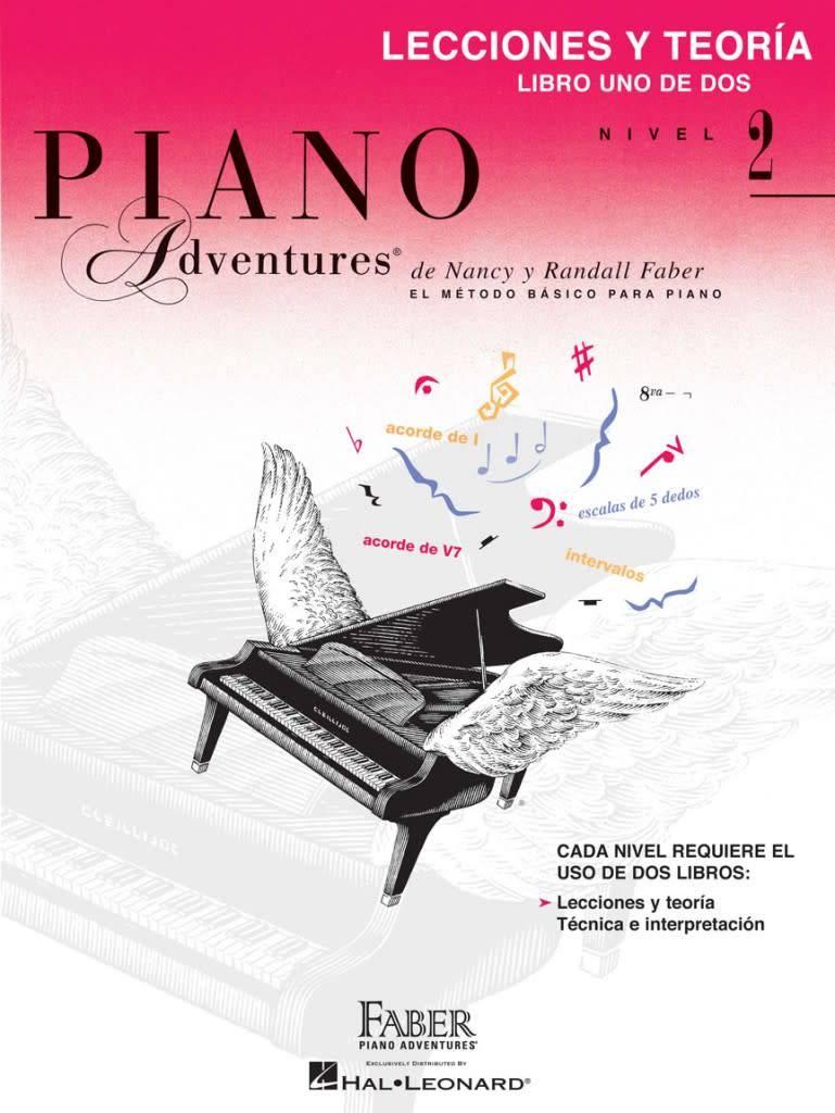Hal Leonard Piano Adventures3a Lecciones Y Teorc3ada, Nivel 2