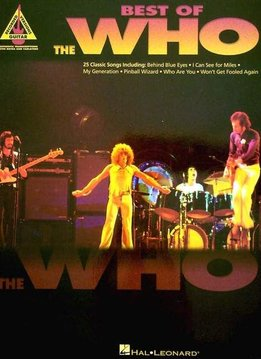 Hal Leonard Best of the Who3a Guitar Recorded Versions