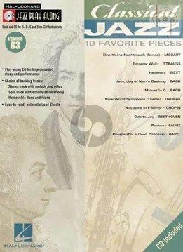 Hal Leonard Classical Jazz: 10 Favorite Pieces, Jazz Play-Along