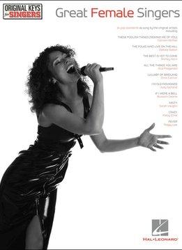 Hal Leonard Great Female Singers: Vocal/Piano