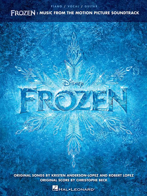 Hal Leonard Frozen Soundtrack3a Piano/Vocal/Guitar