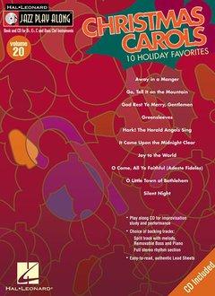 Hal Leonard Christmas Carols Jazz Play Along