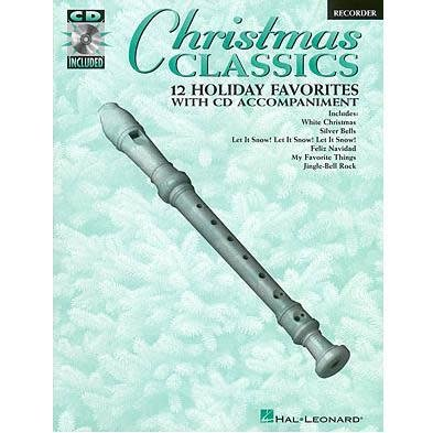Hal Leonard Christmas Classic 12 Holiday Favorites with CD