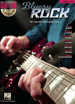 Hal Leonard Bluesy Rock: Guitar Play-Along