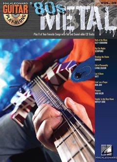 Hal Leonard 80s Metal3a Guitar Play-Along