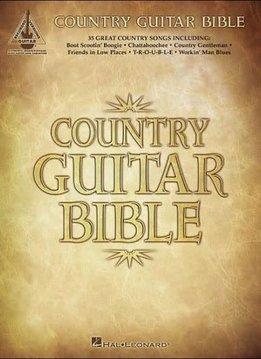 Hal Leonard Country Guitar Bible: Recorded Guitar