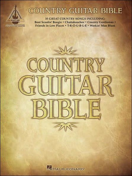 Hal Leonard Country Guitar Bible3a Recorded Guitar