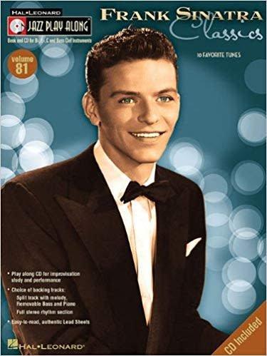 Hal Leonard Frank Sinatra Classics'3a Jazz Play Along