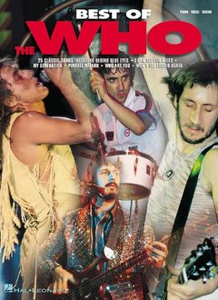 Hal Leonard Best of the Who: Piano/Vocal/Guitar