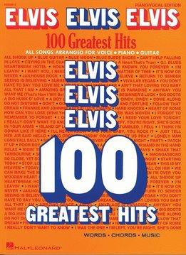 Hal Leonard ELVIS: 100 Greatest Hits, Piano/Vocal/Guitar