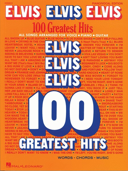Hal Leonard ELVIS3a 100 Greatest Hits, Piano/Vocal/Guitar