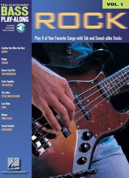 Hal Leonard Bass Play-Along'3a Rock W/CD