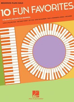 Hal Leonard Beginning Piano Solo: 10 Fun Favorites