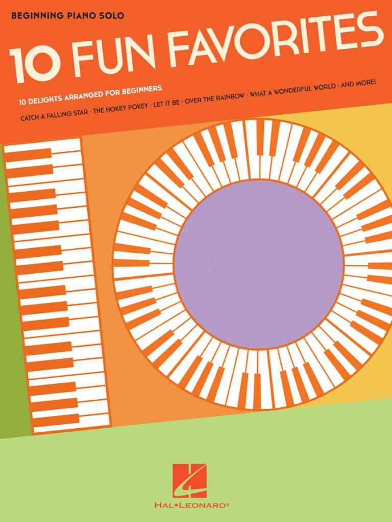 Hal Leonard Beginning Piano Solo3a 10 Fun Favorites