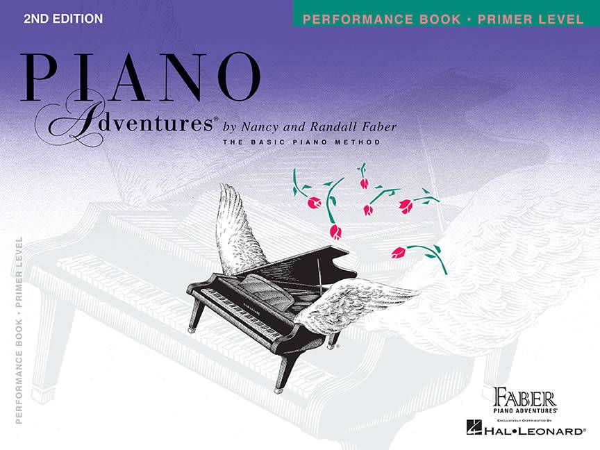 Hal Leonard Piano Adventures Primer Level Performance Book