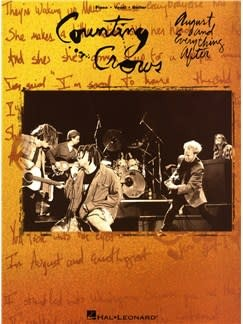 Hal Leonard Counting Crows3a August Everything After, Piano/Vocal/Guitar