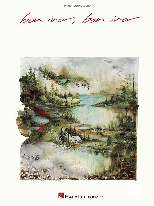 Hal Leonard Bon Iver, Bon Iver3a Piano/Vocal/Guitar