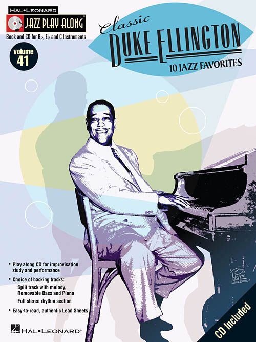 Hal Leonard Jazz Play Along Classic Duke Ellington V41
