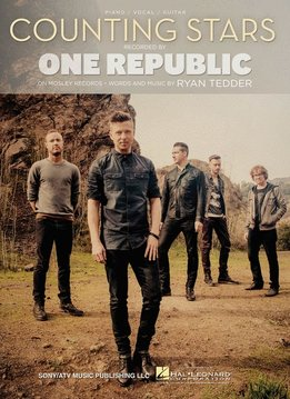 Hal Leonard One Republic3a Counting Stars, Piano/Vocal/Guitar