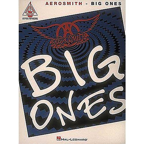 Hal Leonard Aerosmith3a Big Ones for Guitar