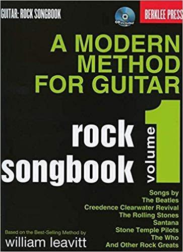 Hal Leonard Modern Method For Guitar Rock Songbook3a (Book/CD)