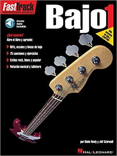 Hal Leonard FastTrack Bajo Method 13a Book/CD Spanish Edition