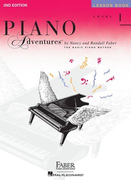 Hal Leonard Faber Piano Adventures Level 1 Lesson Book