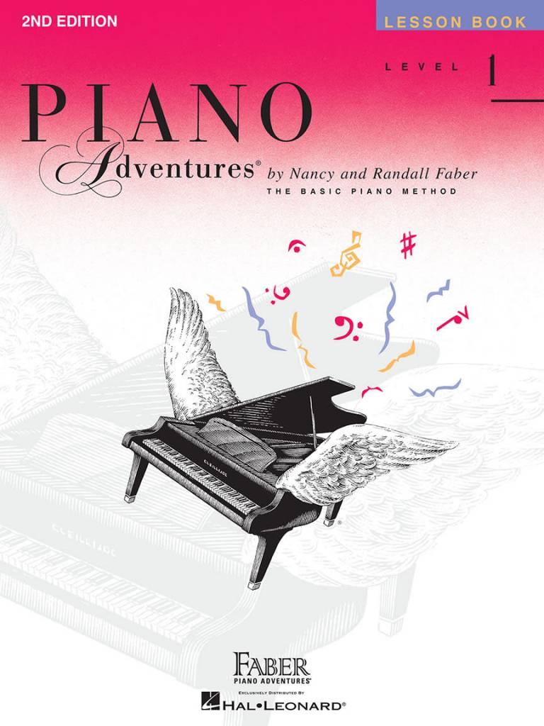 Hal Leonard Faber Piano Adventures Level 1 Lesson Book