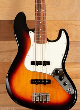 Squier Fender Standard Jazz Bass®, Pau Ferro Fingerboard, Brown Sunburst