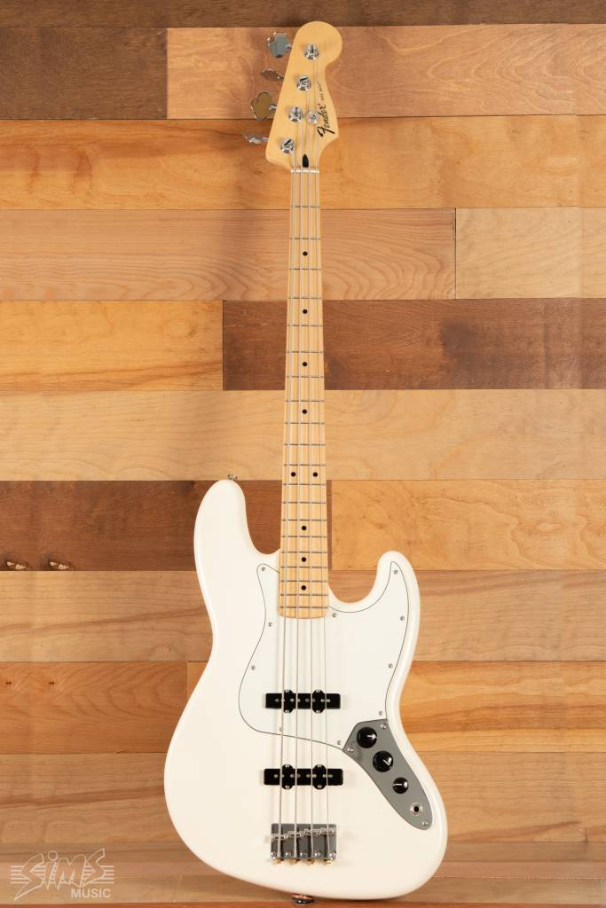 Fender Fender Standard Jazz Bass®, Maple Fingerboard, Arctic White