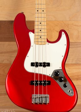 Fender Fender Standard Jazz Bass®, Maple Fingerboard, Candy Apple Red
