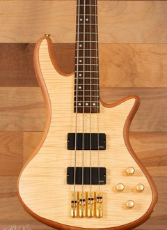 Schecter Schecter Stiletto Custom-4 Electric Bass, Natural